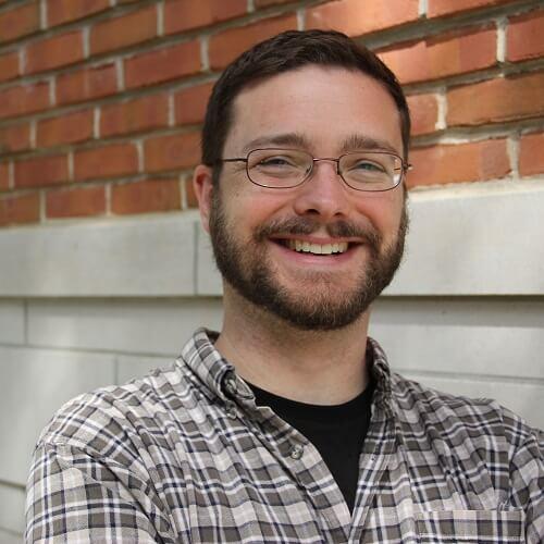Headshot of Matt, smiling.